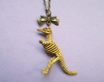 Dinosaur Skeleton Necklace