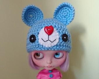 LOVELY MOUSE hat for blythe