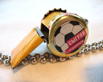 Whistle Children Toy Soccer Number One