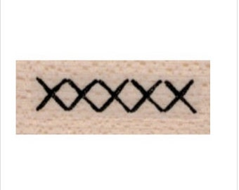rubber stamp Cross Stitch  XXX no19880 scrapbooking supplies stamps stamping sewing