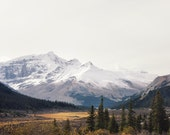 Jasper National Park Photo, Mountain Print, Nature Photography, Large Wall Art Print, Landscape Photography Print - The Wild Truth