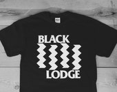 Black Lodge : TP / Black Flag Tee Shirt