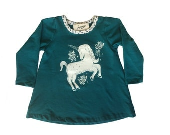 Unicorn print sweatshirt dress Supayana ready to ship!