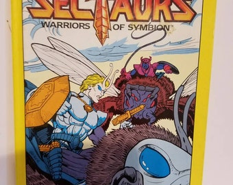 Sectaurs book vintage