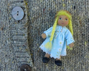 Waldorf  Doll Pin