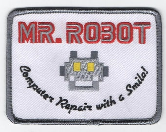 Accurate Mr Robot Patch fsociety *Free U.S. Shipping*