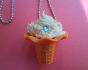 Whipped Cream Cone