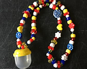 Bug Catcher or Treasure Keeper Necklace -Snow White