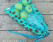 Reusable Produce Bag - Hedgehog - from green by mamamade