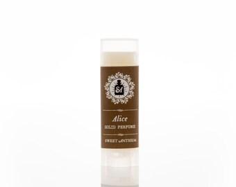 Alice 5ml Solid Perfume - white flowers, hazy woods & garden greenery...