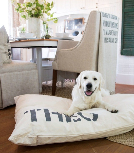 canvas dog bed cover