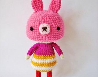 Rabbit Girl - PDF Crochet Pattern
