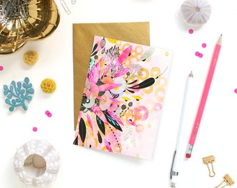 Card - Note Card - Scatter