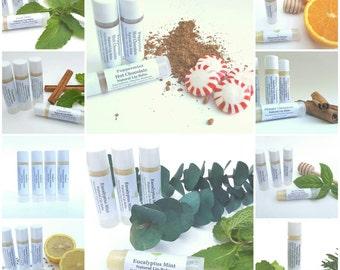 Natural Lip Balm, Organic Lip Balm, Teen Gift, Stocking Stuffer, Beauty Gift, Lip Butter, Tube Lip Chap, Clear Lip Gloss, Winter Lip Care