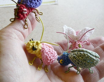 Little Bitty Beetles to Crochet - #034