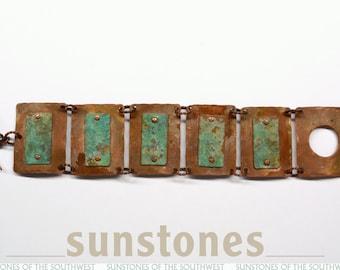 Rustic Link Cuff Bracelet B1808