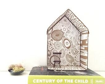 DIY kit - scribble house craft kit