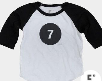 7th Birthday Shirt - Raglan