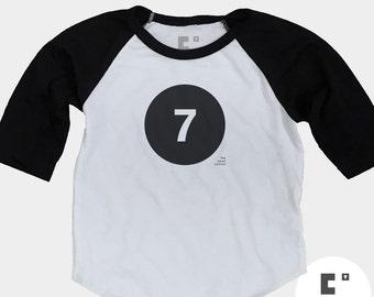 7th Birthday Shirt | Boys 7th Birthday Shirt | Seventh Birthday Shirt | Birthday Girl Shirt | 7 Year Old Birthday | Birthday Gift | Raglan
