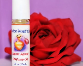 Amber Amore Perfume Oil Roll-On 1/3oz