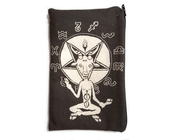 Zodiac Baphomet Makeup Bag