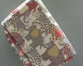 Diaper Clutch or Small Diaper Bag Elephant Walk Fabric