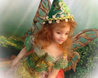 OOAK Young Fairy Ginger
