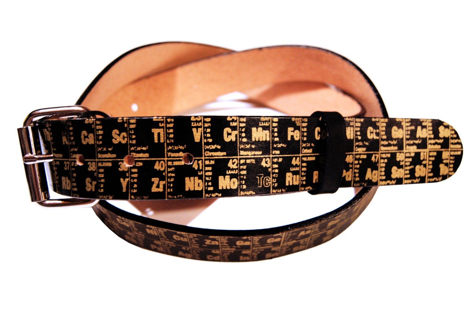 Periodic table of elements leather belt e101909470355743m periodic table of elements leather belt gamestrikefo Gallery