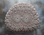 Crocheted Lace Stone, Large, Home Decor, Table Decoration, Hanmdade, Original, Folk Art, Monicaj, Nature