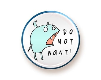 DO NOT WANT - round magnet