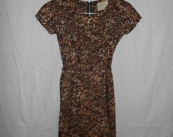 SALE Vintage CELE ORIGINALS 50's 1950's  dress        womens women ladies clothing clothes   Xs
