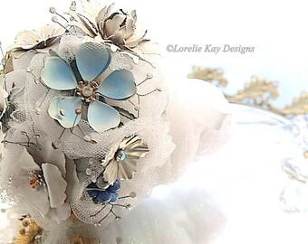 Wedding Brooch Bouquet One-of-a-Kind Vintage Jewelry Pins Bridal Bouquet Vintage Bride Lorelie Kay Designs