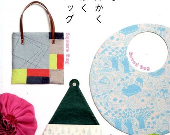 Round Square Triangle Handmade Bags - Japanese Craft Book