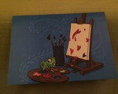 A Touch of Color Notecard (Item 05-353)