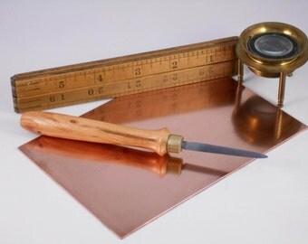 Printmaking scraper tool, Intaglio, mezzotint