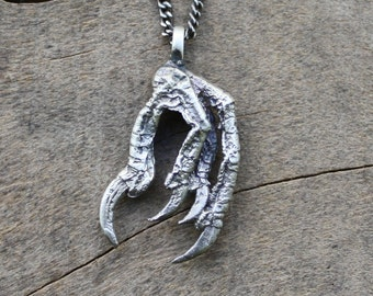 bird claw necklace