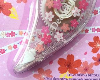 Cherry Blossom Tape - Flower Tape - Pink Tape - Sakura Tape - Japanese Tape