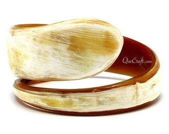 Horn Bangle Bracelet - Q9839