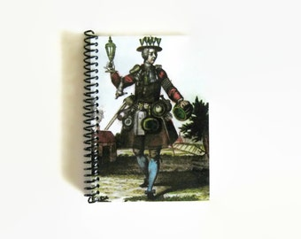 The Glazier - Notebook Spiral Bound - 4x6in
