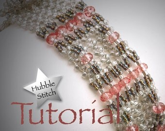 Hubble Stitch Seed Bead Bracelet Tutorial with Toggle Clasp Carinae