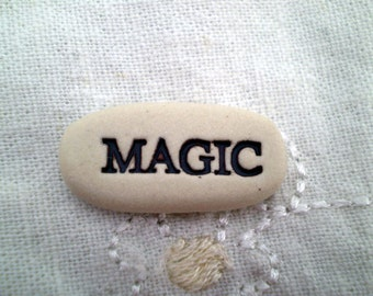Magic, Pocket Charm, Pocket Token, Message Stone, Inspirational Stones