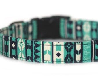 Aztec Tribal Dog Collar, Arapaho