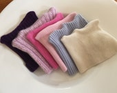 Recycled 100% Cashmere beanies baby hats