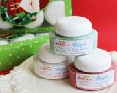 SALE-Holiday Whipped Body Butter Gift Set - Christmas Gift Set, Mint Cookie, Mahagoney Teakwood, Marshmallow, Stocking Stuffer, For Her