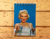 Marilyn Monroe postcard notebook