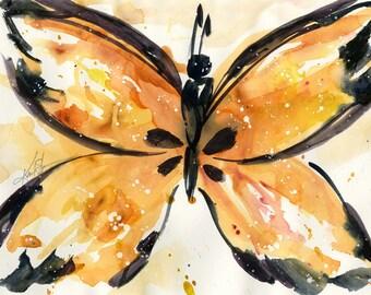 Tazza di caff pennellata serie n 4 di for Pesce rosso butterfly