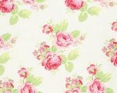 NEW Tanya Whelan, Lola collection, Lola Roses on White, yard