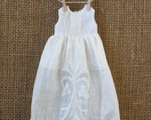 OOAK Vintage Hankie Dress for Blythe