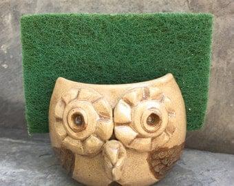 Owl Sponge Holder