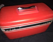 Vintage Samsonite Make Up Travel Carrier